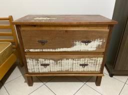 Comoda/ armário de madeira rústico