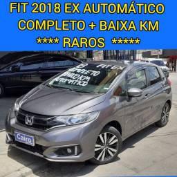 Fit 2018 ex 1.5 flex automatico completo ar condicionado baixa km