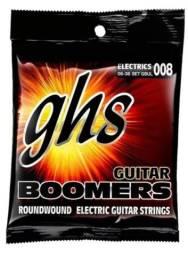Encordoamento para guitarra GHS Boomers 008