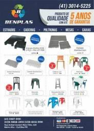 Mesas e cadeiras plásticas p/180 kilos ler anuncio