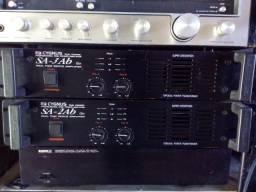 Amplificador cygnus sa-3ab e cygnus sa-2ab