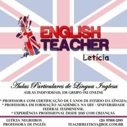 Professora particular de inglês para crianças. Alfabetização na língua
