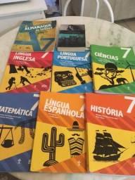 Vendo livros colégio adventista