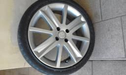 """Rodas 17"""" Renault com pneus"""