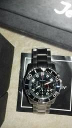 Relógio jean de vernier