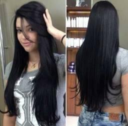 Cabelo tic tac semelhante ao cabelo humano