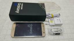 Galaxy S7 Flat 32GB Leitor Digital Completo Nota Fiscal Aceito Troca!