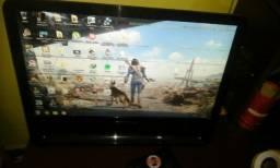 Vendo monitor positivo 20 polegadas, aceito placa de video