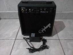 Guitarra squier stratocaster + cubo ephifone