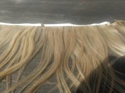 Telas de cabelo loiro 50cm