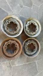 Rodas 5 furos Originais VW fusca