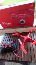 Drone grande vemelhor e preto SYMA