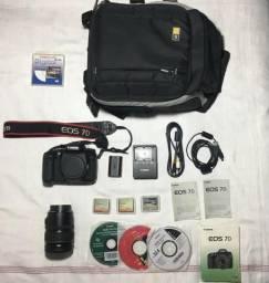 Canon 7D( Somente 7.611 Clicks ) + Lente 28-135 Mm + Accesorios comprar usado  Florianópolis