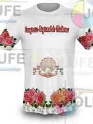 Camisas para sublimação