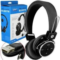 Fone Ouvido Sem Fio Bluetooth 4.1 Celular Mcro Sd Mp3 P2 Fm (produto novo)