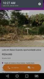 Oportunidade e Baixo Guandu Glauber 33999934445