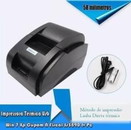 Impressora Cupom 58mm Usb Ticket
