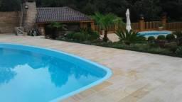 Piso piscina X Arenito X caxambu = Arenito Taquara Direto da Fábrica