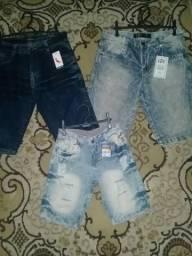 Bermuda Jeans 35 reais