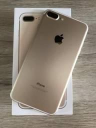IPhone 7 Plus 32GB Ouro Impecável Nota Fiscal Garantia