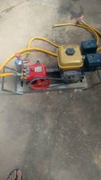 Motor estacionário com bomba de alta pressão