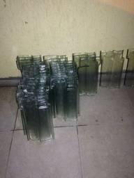 Telhas de vidro romana
