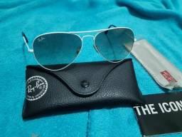 Óculos Ray Ban original aviador novinho original completo faça sua oferta