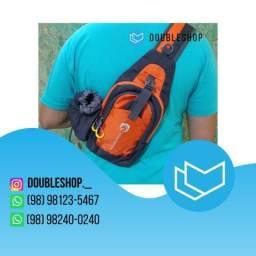 Mini mochila com 1 alça transversal Hmaston, ideal para ciclismo, Pronta entrega 5 x 13,97