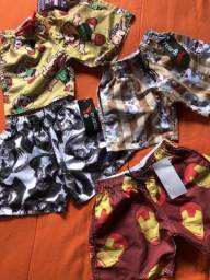 Shorts Bateiras infantil