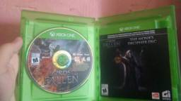 Jogo lords of the fallen para Xbox one