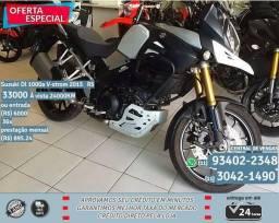 Suzuki DL 1000A Preta com Detalhes 2015 ABS R$33033 24044 KM - 2015