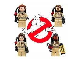 4 Bonecos Ghostbusters Caça Fantasmas Blocos De Montar