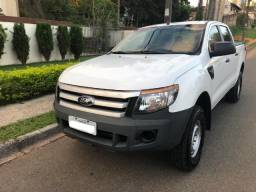 67.900,00 / Ranger CD XL 2.2 4x4 2014, Branca, Diesel, Completa - 2014