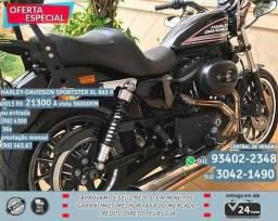 Preta Harley-Davidson Sportster Xl 883 R 2013 fhi R$21300 36000km - 2013
