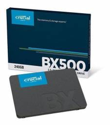 Hd SSD Crucial BX 500 240 gb *Lacrado* Leitura 540MB/s, Gravação 500MB/s