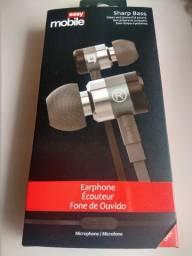 Fone de Ouvido P2 Sharo Bass Easy Mobile