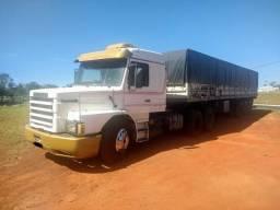 Scania 113 6x2 trucada teto alto topline ano 1994 motor seminovo R$ 85.000