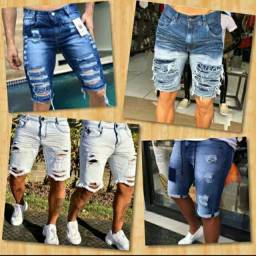 Bermuda jeans no atacado é varejo