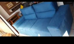 Sofa retratil e reclinavel novo