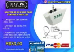 Adaptador de audio para controle xbox 360