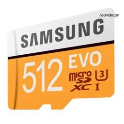 Samsung EVO 512G micro cartão de memoria