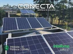 Energia Solar Economize com garantia de eficiência de 25 anos!