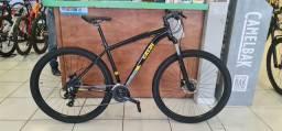 Bicicleta Caloi aro 29 Explorer Sport 2021 -24 velocidades Shimano,Freio Hidráulicos