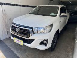 Hilux 2019, srv 4x4, diesel, automático, apenas 26 mil km, único dono!!!