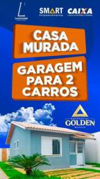 Financie Sua Casa+Lote200m2/ Murado / Use seu Fgts !!!