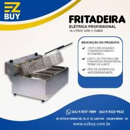Fritadeira Elétrica Edanca 2 Cubas 16 litros
