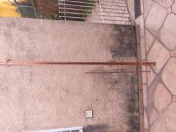 Tubos de cobre -Eluma classe A- 13 metros- 15 milímetros