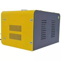 Carregador de bateria - portátil - lynus 127v - lcb-10