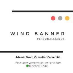 Wind Banner - Bandeiras personalizadas