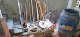 Lote com várias ferramentas pedreiro